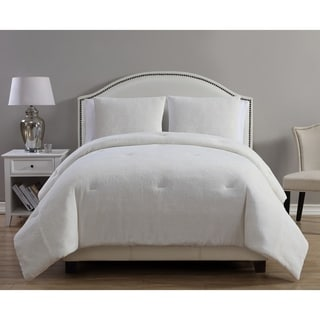 VCNY Home Gabriella 3-piece Metallic Plush Comforter Set