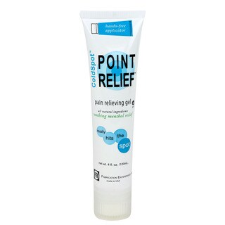 Point Relief ColdSpot 4-ounce Lotion Gel Hands-Free Applicator Tube