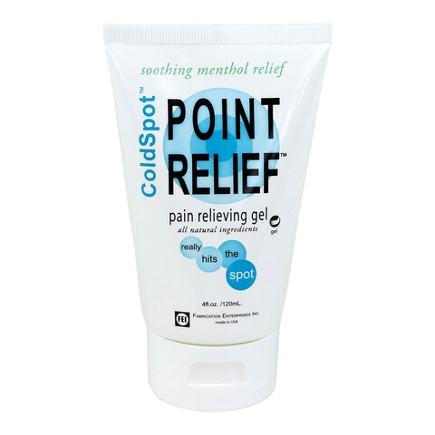 Point Relief ColdSpot 4-ounce Lotion Gel Tube