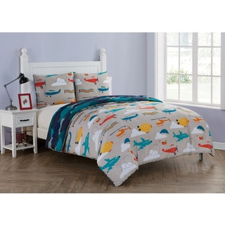 VCNY Home Glider Reversible 3-piece Comforter Set