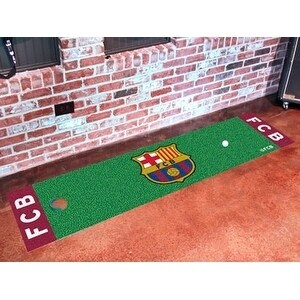 "FCBarcelona Putting Green Mat 18""x72"""