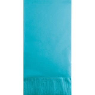Touch of Color Guest Towels 3ply Bermuda Blue ,Case of 192