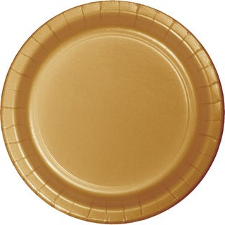 Touch of Color Dinner Plates Glittering Gold ,Case of 240