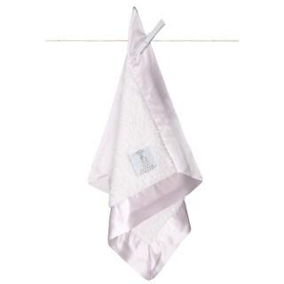 Little Giraffe Pink Chenille Security Blanket
