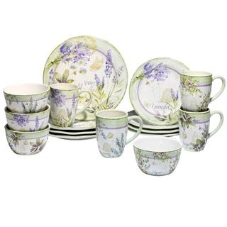 Certified International Herbes de Provence 16 -Piece Dinnerware Set