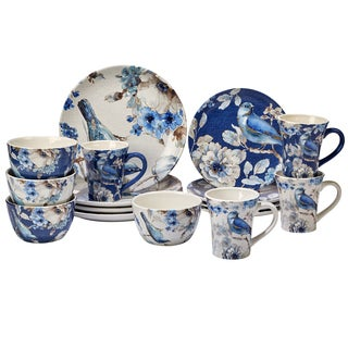 Certified International Indigold 16 -Piece Dinnerware Set  sc 1 st  Overstock.com : dinnerware 16 piece sets - pezcame.com