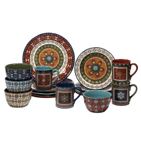 Certified International Monterrey 16 -Piece Dinnerware Set