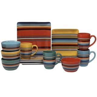 Certified International Pinata 16 -Piece Dinnerware Set