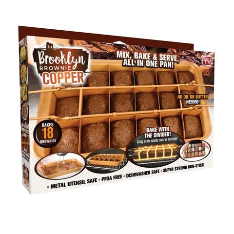 Gotham Steel Brooklyn Brownie Pan