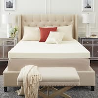 TruPedic USA CoolFlow 4-inch Memory Foam Mattress Topper