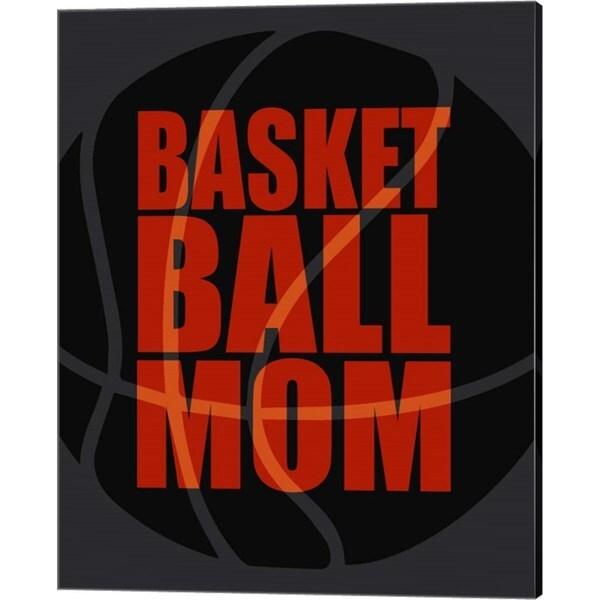 Sports Mania 'Basketball Mom' Canvas Art