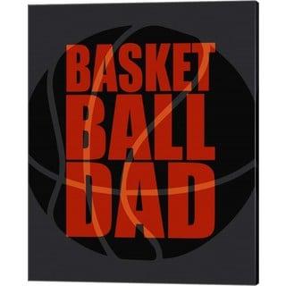 Sports Mania 'Basketball Dad' Canvas Art