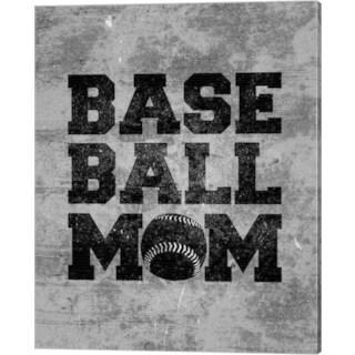 Sports Mania 'Baseball Mom' Canvas Art