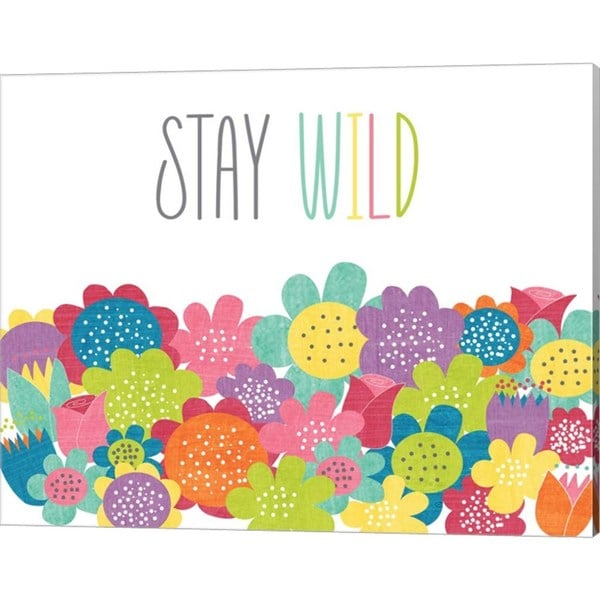 Alli Rogosich 'Stay Wild' Canvas Art