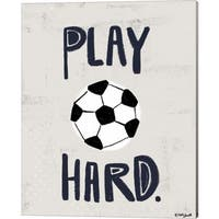 Katie Doucette 'Soccer' Canvas Art