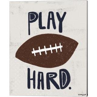 Katie Doucette 'Football' Canvas Art