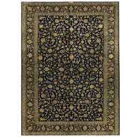 Herat Oriental Persian Hand-knotted Kashan Wool Rug (8'8 x 11'11)