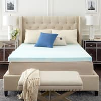 TruPedic USA CoolFlow 3-inch Gel Memory Foam Mattress Topper