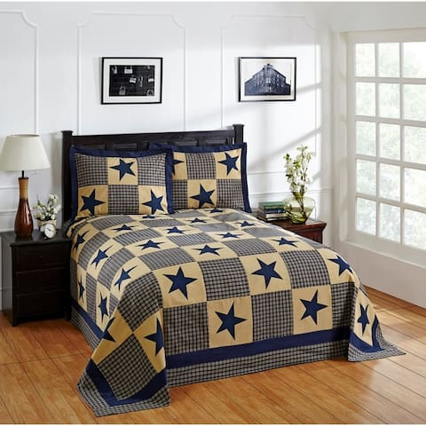 Better Trends Star Bedspread available with Sham