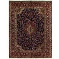 Handmade Herat Oriental Persian Hamadan Wool Rug - 8'11 x 11'11 (Iran)