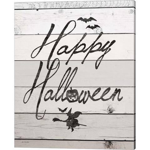 Jo Moulton 'Happy Halloween' Canvas Art