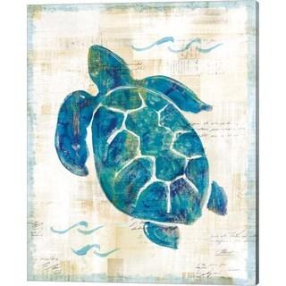 Sue Schlabach 'On the Waves VI' Canvas Art