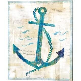 Sue Schlabach 'On the Waves IV' Canvas Art