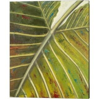 Patricia Pinto 'Green Zoom I' Canvas Art