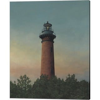David Knowlton 'Currituck Beach Lighthouse' Canvas Art