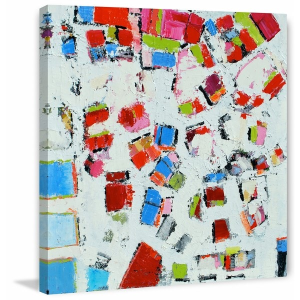 View from Above' Painting Print on Wrapped Canvas