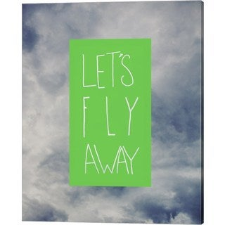 Leah Flores 'Let's Fly Away' Canvas Art