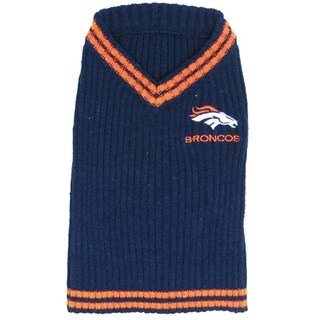 Denver Broncos Dog Sweater