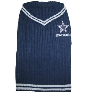 Shop Dallas Cowboys Dog Sweater Free Shipping On Orders