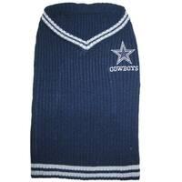 Dallas Cowboys Dog Sweater