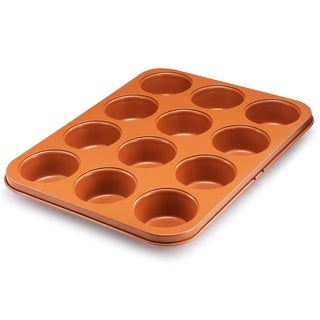 Gotham Steel Ti Cerama Non-stick Muffin Baking Pan