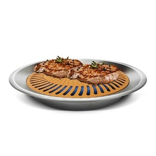 Link to Gotham Steel Ti Cerama Non-stick Stove Top Indoor Grill Similar Items in Cookware