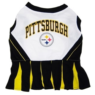 Pittsburgh Steelers Cheerleader Dog Dress