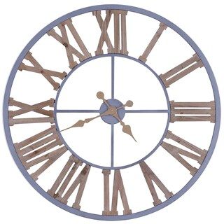 31.5X31.5 Iron Wall Clock with MDF