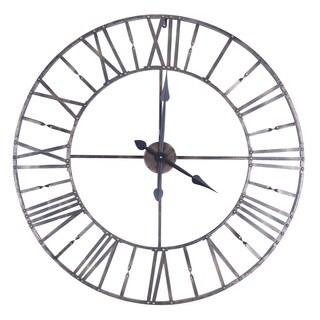 35.5X35.5 Circular Metal Wall Clock
