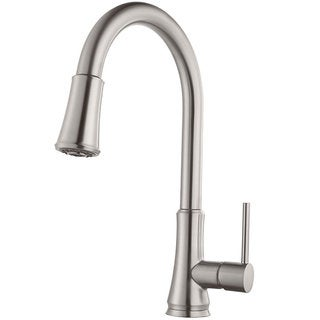 Pfister Pfirst Series Pull-Down Kitchen Faucet G529-PF1S Stainless Steel