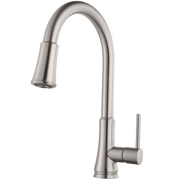 Pfister Pfirst Series Pull Down Kitchen Faucet G529 PF.
