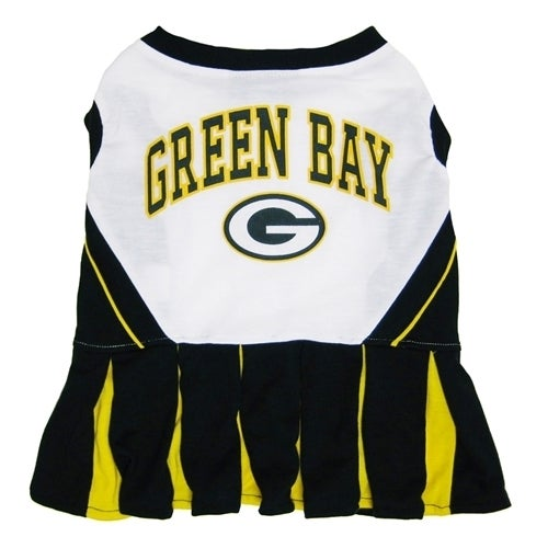 First Green Bay Packers Cheerleader Dog Dress (Medium), M...