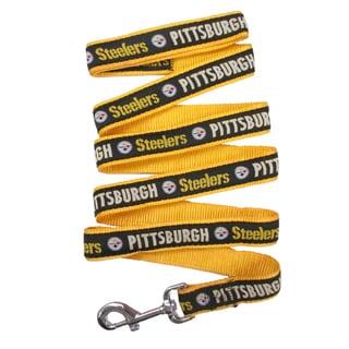 Pittsburgh Steelers Ribbon Dog Leash