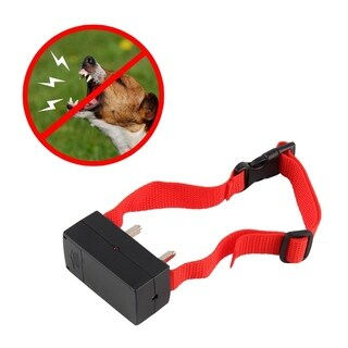 Anti Bark Electronic Shock Control Dog Collar