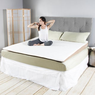 Avana Cool Inclined Gel Memory Foam Mattress Topper