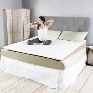 Avana Cool Inclined Gel Memory Foam Mattress Topper|https://ak1.ostkcdn.com/images/products/15891786/P22297611.jpg?impolicy=medium