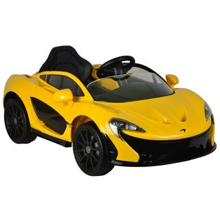 Best Ride On Cars Yellow McLaren P1 12V Ride On