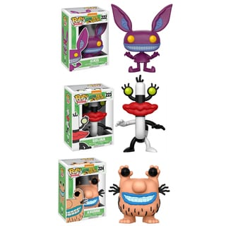 Funko Animation POP! Aaahh!!! Real Monsters Collectors Set; Ickis, Oblina, Krumm