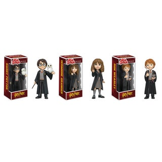 Funko Rock Candy Harry Potter Collectors Set: Harry Potter, Hermione Granger, Ron Weasley