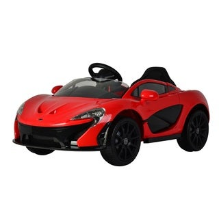 Best Ride On Cars Red McLaren P1 12V Ride On